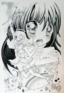 天使の漫画