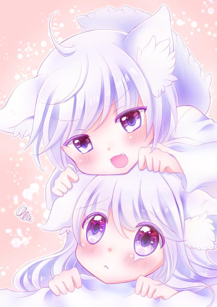 双子のわんこ